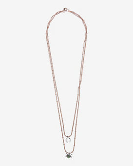 IAM by Ileana Makri Lucky Spider Treasure Necklace
