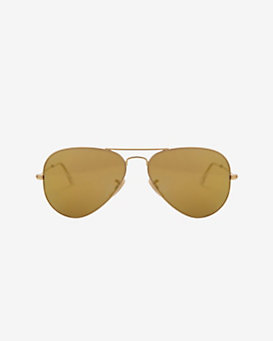 Ray-Ban Gradient Lenses Aviator Sunglasses