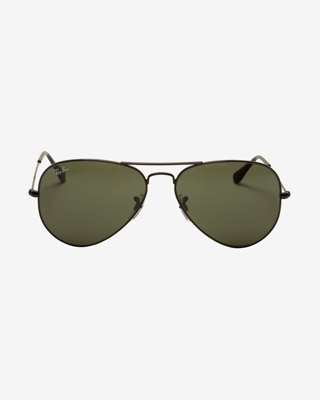 Ray-Ban Icons Classic Aviator Sunglasses: Black