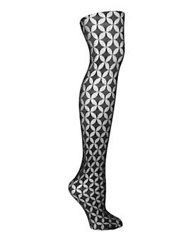 Fogal Oval Patterned Tights