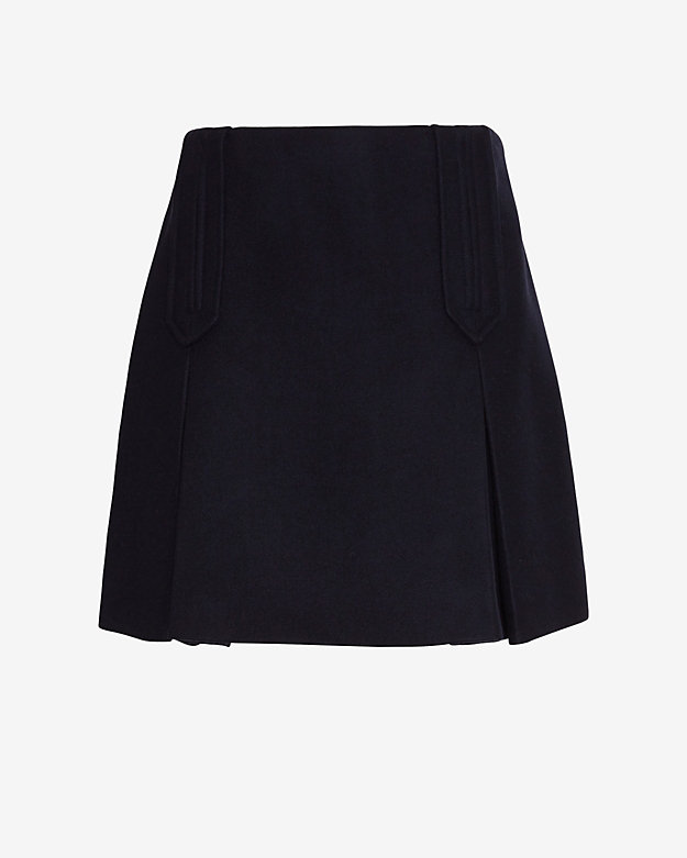 Carven Nautical Flare Skirt