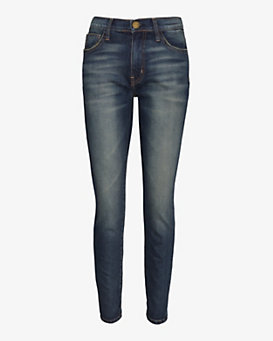 Current/Elliott Darcy High Waist Ankle Skinny