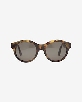 SUPER Sunglasses Mona Cheetah Tortoise Rim Sunglasses
