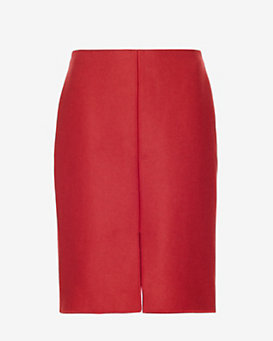 Carven Slit Pencil Skirt