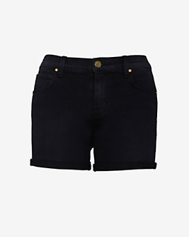 J Brand Cuffed Short: Black