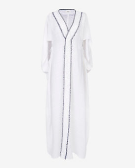 VMT EXCLUSIVE Muriel Embroidered Maxi Caftan