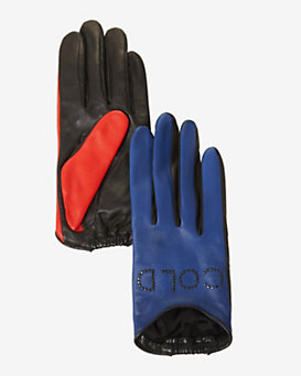 Agnelle Hot & Cold Leather Gloves