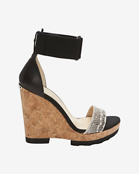 Jimmy Choo Cork Wedge Sandal
