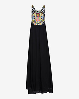 Mara Hoffman Swim Embroidered Maxi Dress
