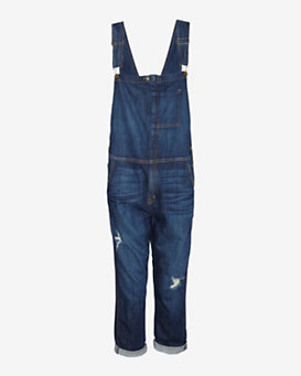 Current/Elliott EXCLUSIVE Destroyed Ranch Hand Overalls