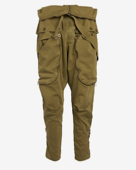 Faith Connexion Paper Bag Cargo Pant