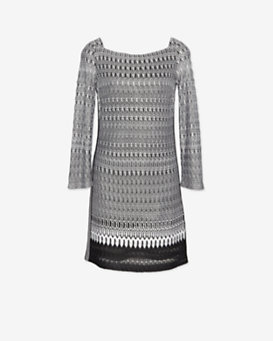 Missoni Knit 7/8 Length Sleeve Dress