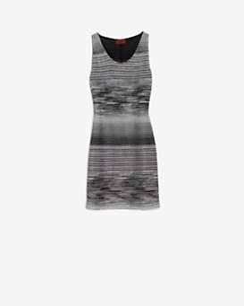 Missoni EXCLUSIVE Metallic Knit Lurex Tank Dress