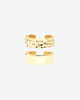Maria Francesca Pepe Midi Ring Set