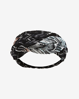 Missoni Braided Crochet Knit Headband