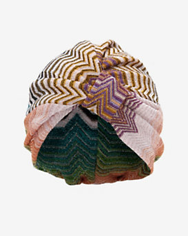 Missoni Mare Lurex Turban
