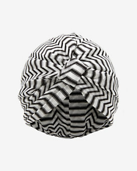 Missoni Mare Zig Zag Knit Turban: Black/White