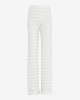 Missoni Knit Pant: White