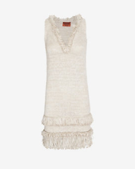 Missoni Loop Fringe Dress