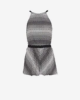 Missoni Mare Open Back Knit Romper