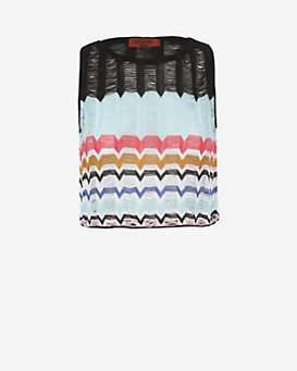 Missoni Mare EXCLUSIVE Crochet Crop Top