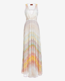 Missoni Cut Out Back Knit Gown