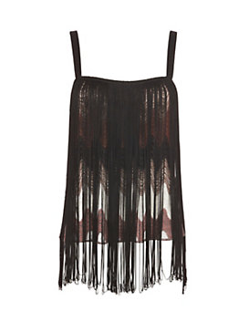 Missoni EXCLUSIVE Fringe Lurex Top