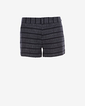 Joie Striped Woven Shorts