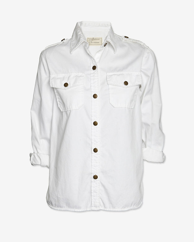 Current/Elliott The Perfect Shirt: White
