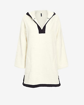 Lisa Marie Fernandez Hooded Terry Tunic