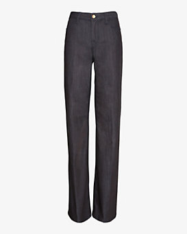 J Brand Eva Wide Leg Denim Trouser