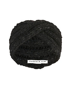 Eugenia Kim Lula Lurex Knit Knot Headband