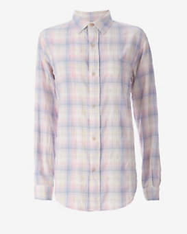 Current/Elliott The Prep School Shirt: Desert Plaid