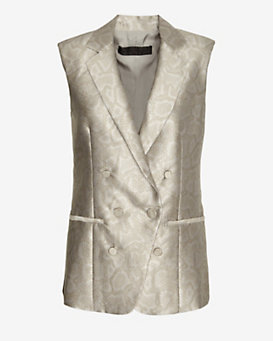 Jenni Kayne Exclusive Snakeprint Vest