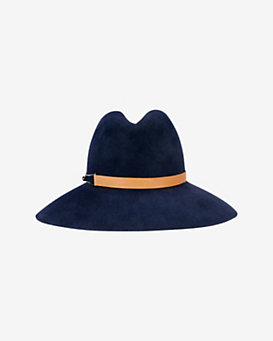 Eugenia Kim Farrah Leather Band Hat