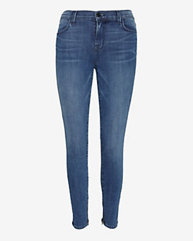 J Brand Maria Photo Ready Ankle Zip Crop: Rumour