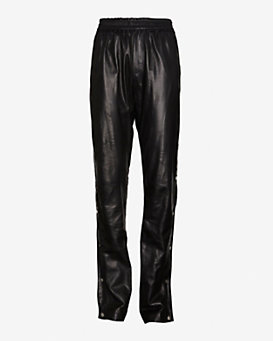 A.L.C. Public Side Snap Leather Pants