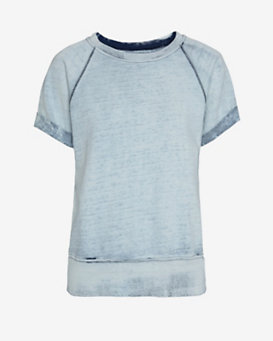 Current/Elliott Short Sleeve Sweatshirt