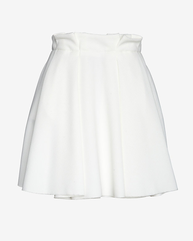 torn by ronny kobo Gathered Waist Flare Skirt