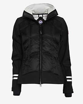 Canada Goose Hybridge Jacket: Black