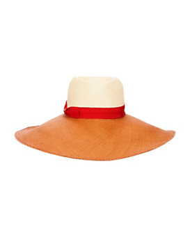 Inverni Kathleen Two Tone Wide Brim Hat