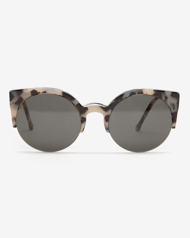 SUPER Sunglasses Lucia Tortoise Rim Sunglasses