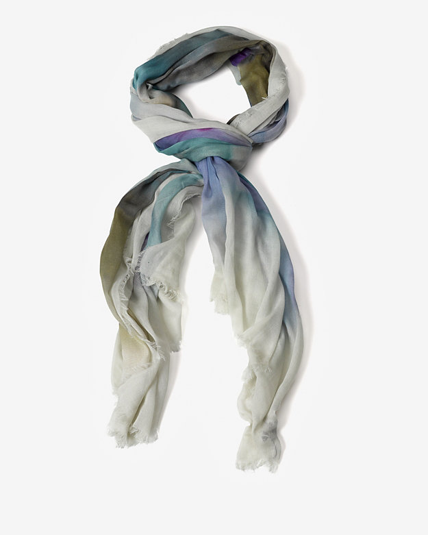 Franco Ferrari Watercolor Square Scarf