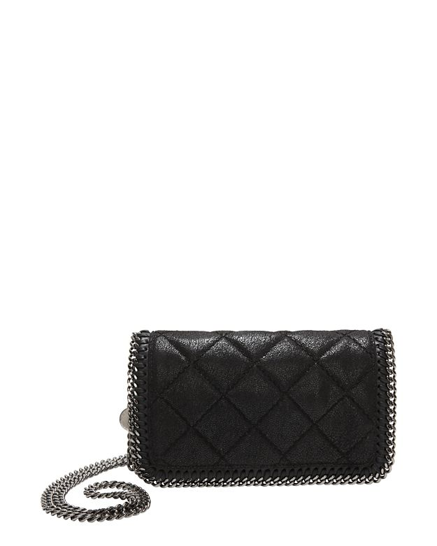 Stella McCartney Falabella Quilted Flap Front Crossbody