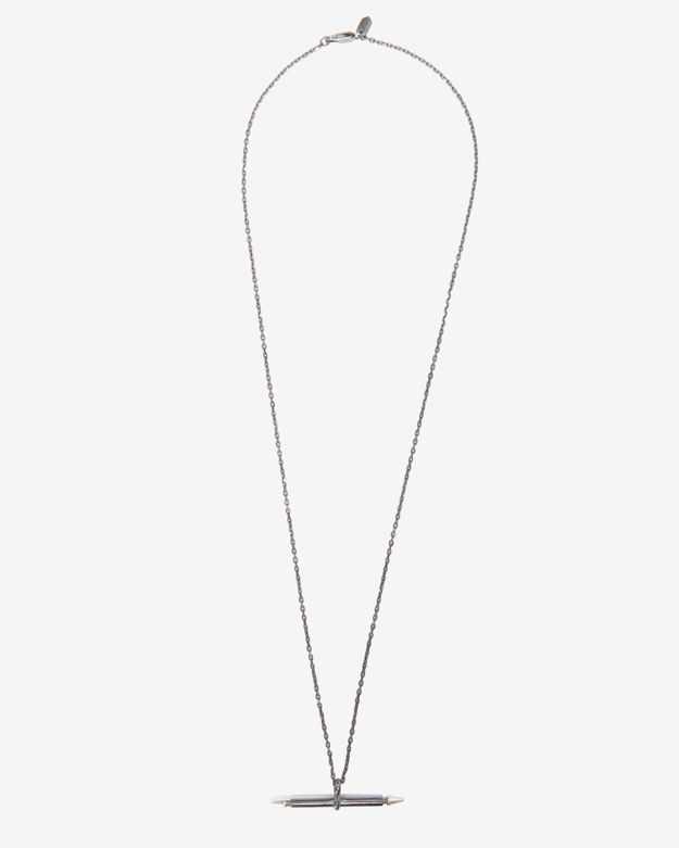 Maria Black Single Spear Necklace