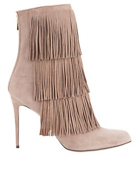 Paul Andrew Taos Fringe Suede Boot