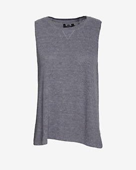 Nation LTD EXCLUSIVE Soft Tank: Grey