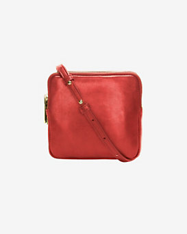 A.L.C. Paloma Three Zip Pouch: Red