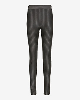 torn by ronny kobo Pinstripe Zipper Pant