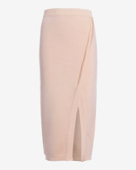 torn by ronny kobo Katya Wrap Skirt: Blush